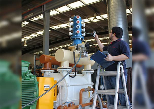 Maintenance of vacuum pumps-1